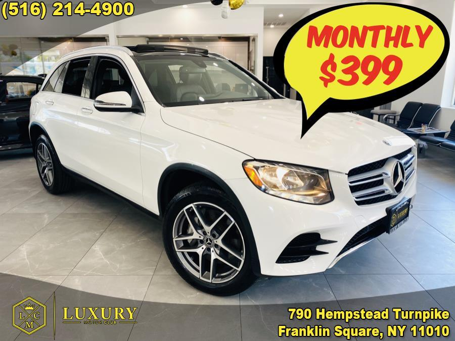 Used Mercedes-Benz GLC GLC 300 4MATIC SUV 2018 | Luxury Motor Club. Franklin Square, New York