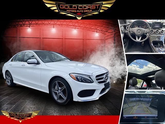Used Mercedes-Benz C-Class C 300 4MATIC Sedan with Sport Pkg 2017 | Sunrise Auto Outlet. Amityville, New York