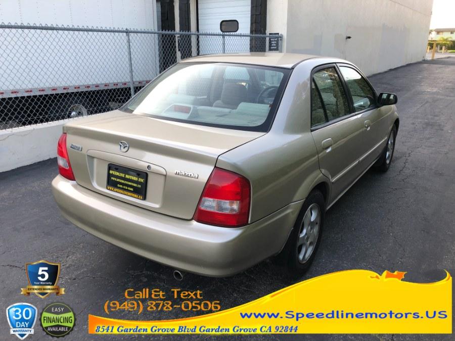 Used Mazda Protege 4dr Sdn LX 2.0L Auto 2001 | Speedline Motors. Garden Grove, California