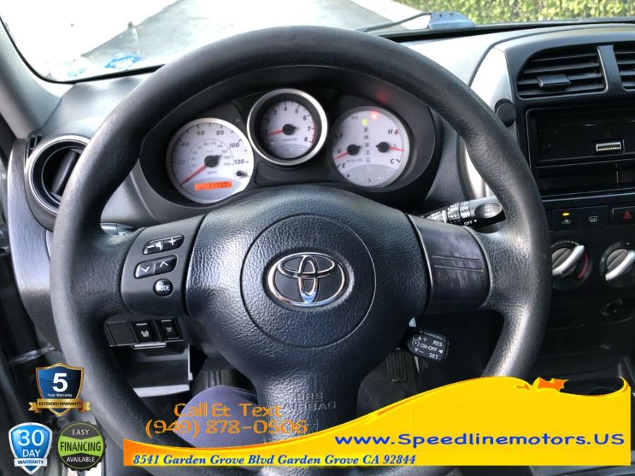 Used Toyota RAV4 4dr Auto (Natl) 2004 | Speedline Motors. Garden Grove, California
