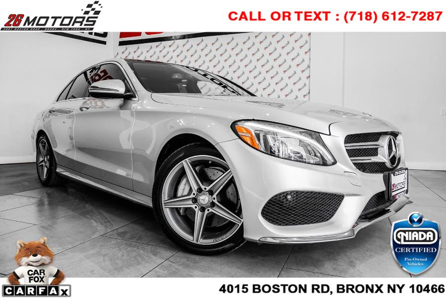 Used Mercedes-Benz C-Class 4dr Sdn C 300 Luxury RWD 2016   52Motors Corp. Woodside, New York
