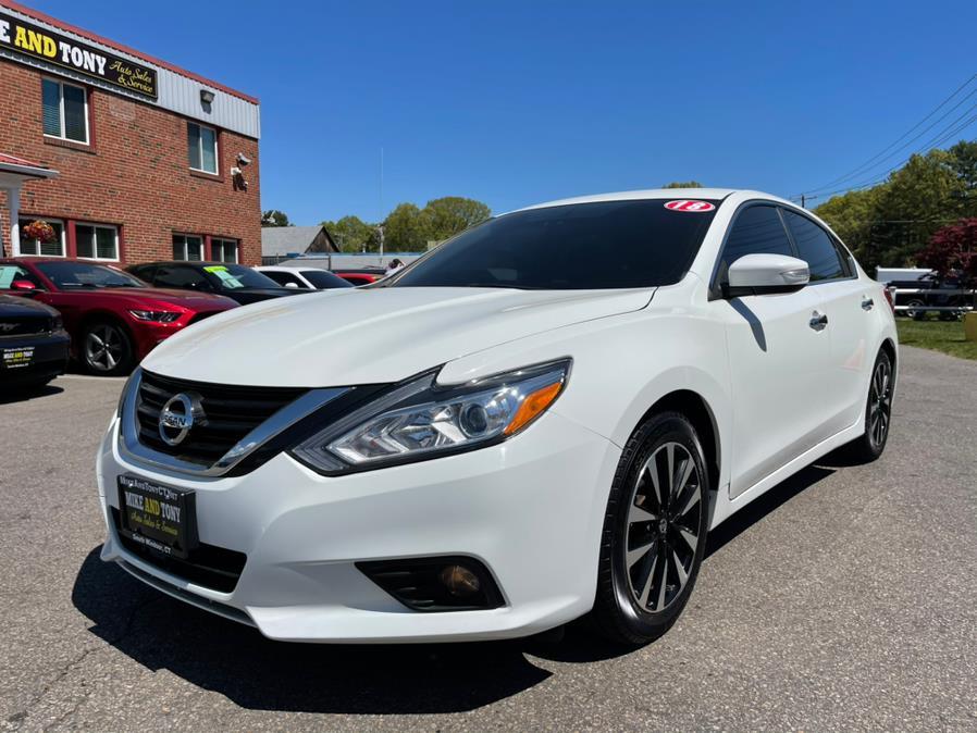 Used Nissan Altima 2.5 SL Sedan 2018 | Mike And Tony Auto Sales, Inc. South Windsor, Connecticut
