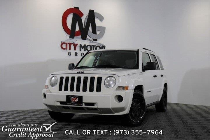 Used 2007 Jeep Patriot in Haskell, New Jersey   City Motor Group Inc.. Haskell, New Jersey