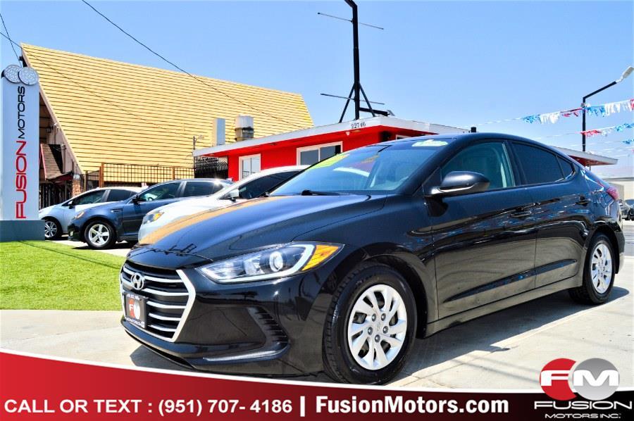 Used 2017 Hyundai Elantra in Moreno Valley, California | Fusion Motors Inc. Moreno Valley, California