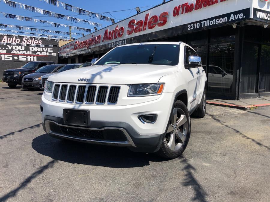 Used 2015 Jeep Grand Cherokee in Bronx, New York   Champion Auto Sales Of The Bronx. Bronx, New York