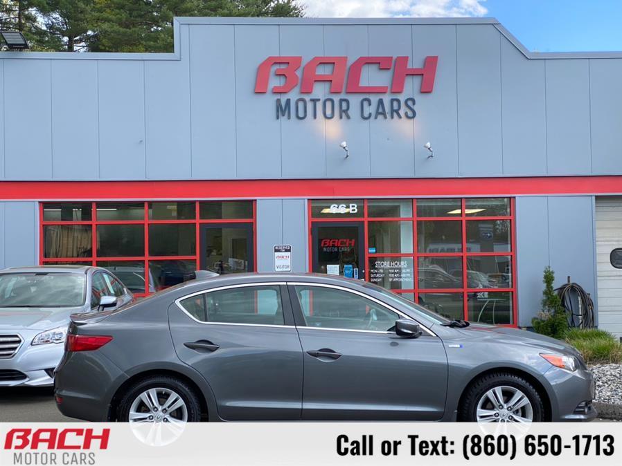 Used Acura ILX 4dr Sdn 1.5L Hybrid Tech Pkg 2013   Bach Motor Cars. Canton , Connecticut