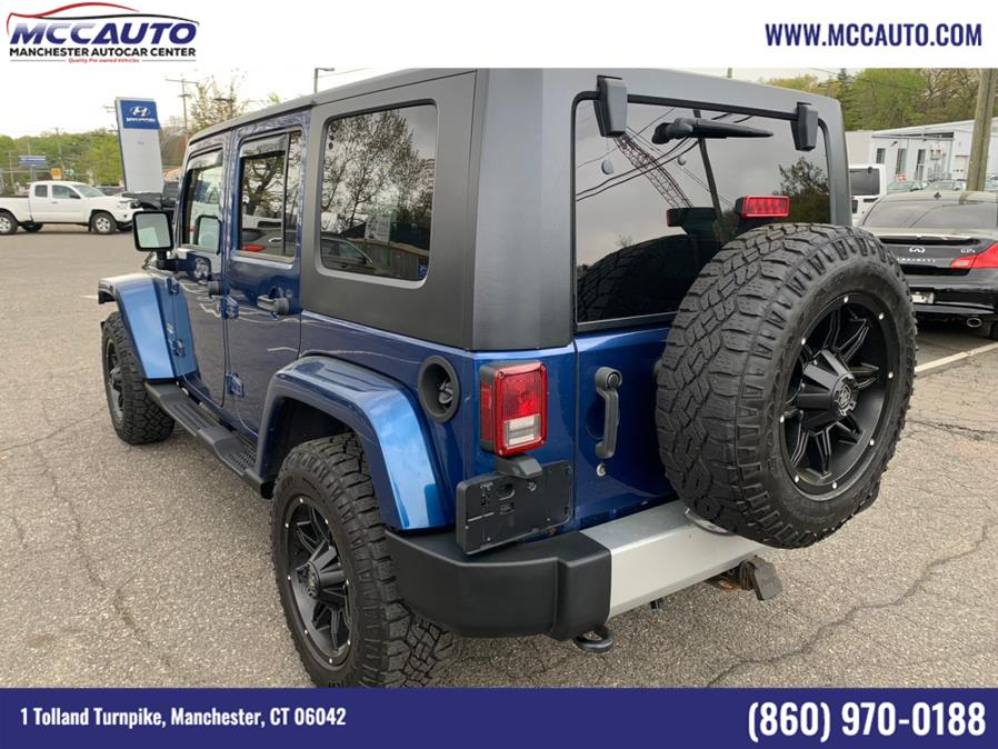 Used Jeep Wrangler Unlimited 4WD 4dr Sahara 2009   Manchester Autocar Center. Manchester, Connecticut