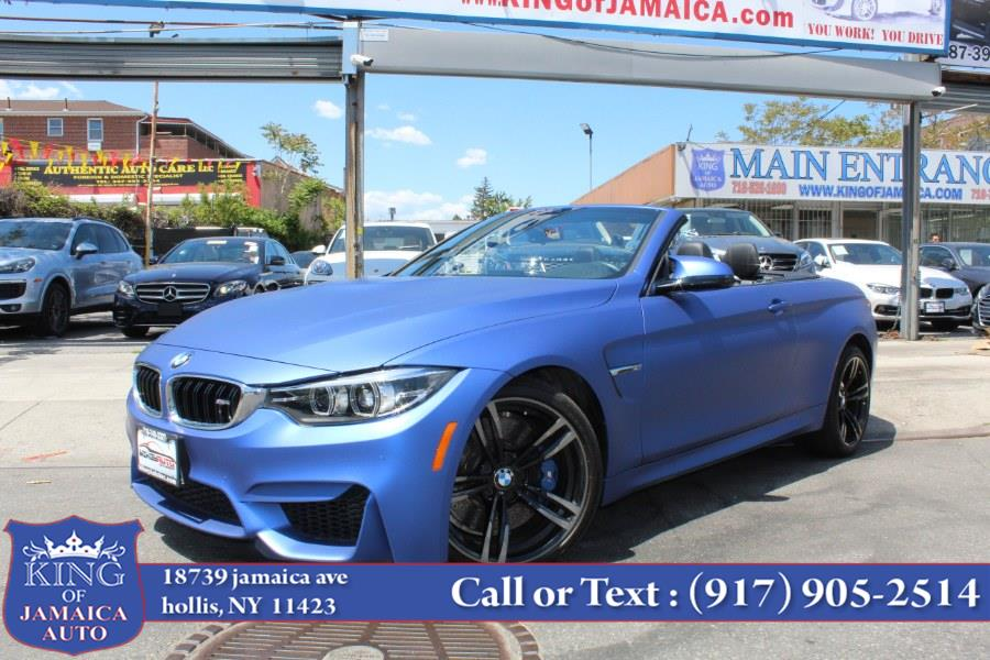 Used BMW M4 Convertible 2018 | King of Jamaica Auto Inc. Hollis, New York
