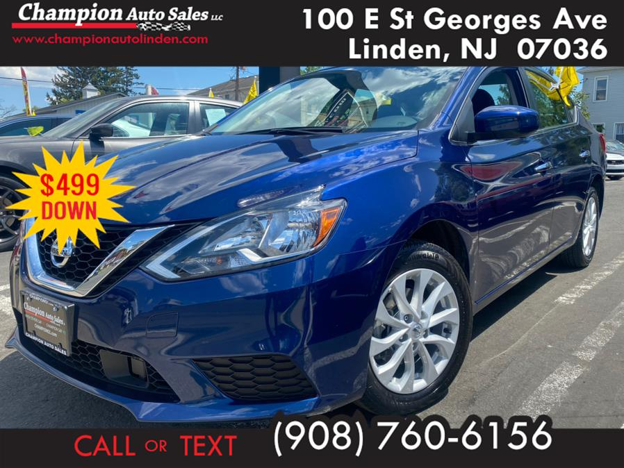 Used 2019 Nissan Sentra in Linden, New Jersey | Champion Auto Sales. Linden, New Jersey