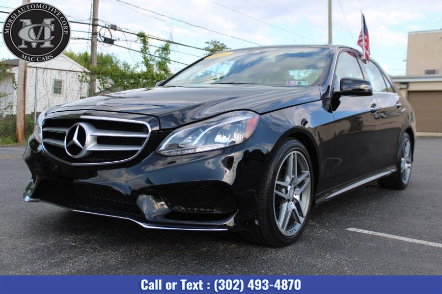 Used Mercedes-Benz E-Class 4dr Sdn E350 Luxury RWD 2016 | Morsi Automotive Corp. New Castle, Delaware