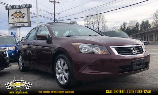Used 2010 Honda Accord Sdn in Worcester, Massachusetts | Rally Motor Sports. Worcester, Massachusetts