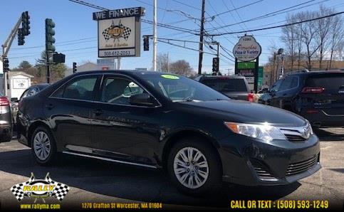 Used Toyota Camry 4dr Sdn I4 Auto L (Natl) *Ltd Avail* 2014   Rally Motor Sports. Worcester, Massachusetts