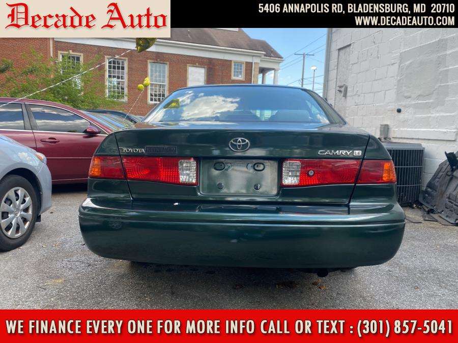 Used Toyota Camry 4dr Sdn LE Auto 2000   Decade Auto. Bladensburg, Maryland