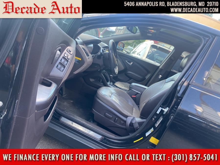Used Hyundai Tucson AWD 4dr Auto Limited PZEV 2012   Decade Auto. Bladensburg, Maryland