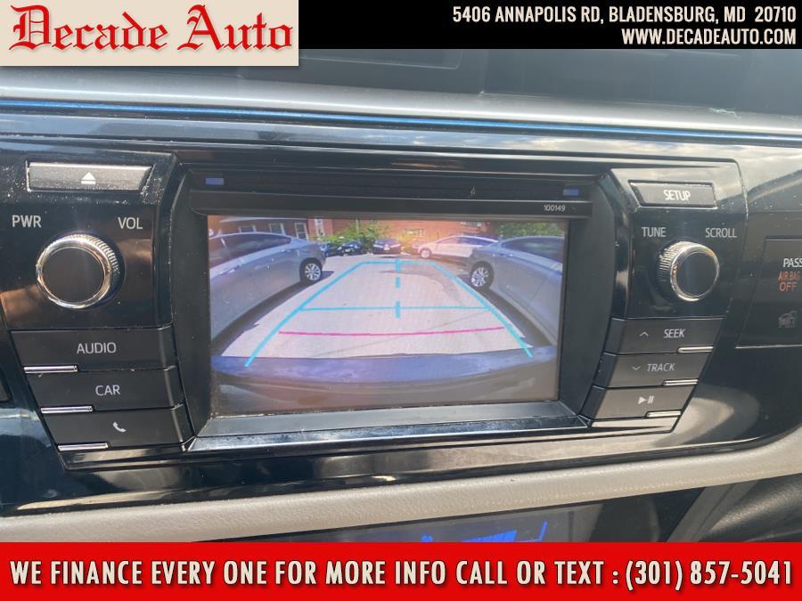 Used Toyota Corolla 4dr Sdn CVT LE (Natl) 2014   Decade Auto. Bladensburg, Maryland