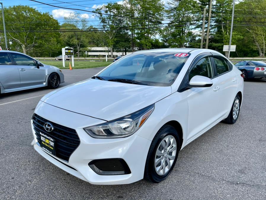 Used Hyundai Accent SE Sedan Auto 2018   Mike And Tony Auto Sales, Inc. South Windsor, Connecticut