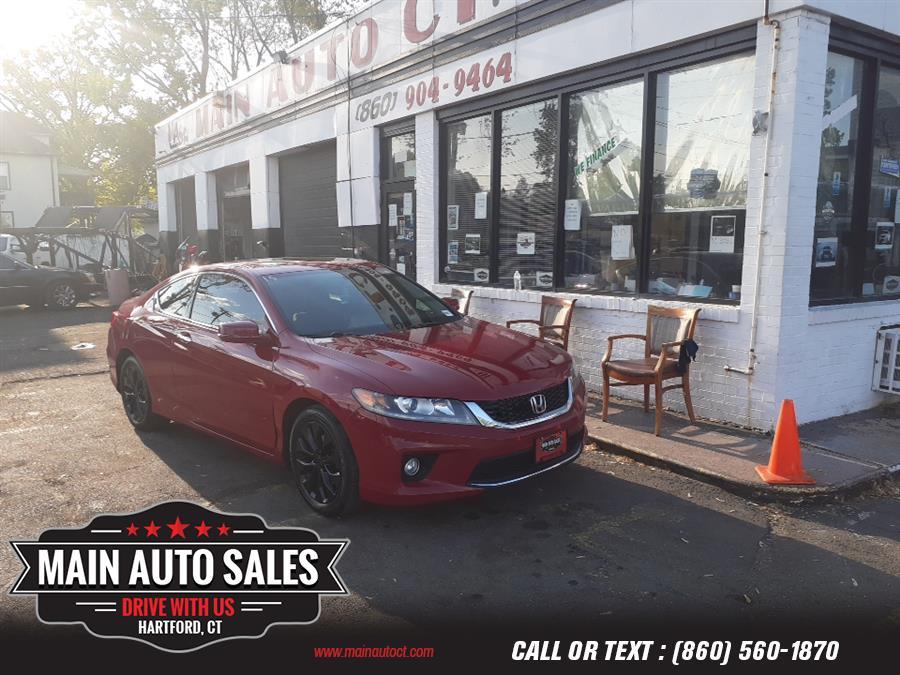 Used Honda Accord Coupe 2dr I4 CVT EX 2014   Main Auto Sales LLC. Hartford, Connecticut