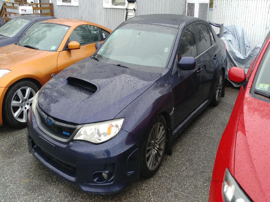 Used Subaru Impreza Sedan WRX 4dr Man WRX Premium 2013 | Matts Auto Mall LLC. Chicopee, Massachusetts
