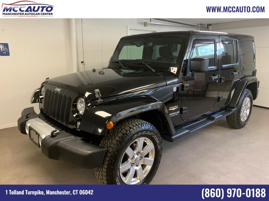 Used Jeep Wrangler Unlimited 4WD 4dr Sahara 2014 | Manchester Autocar Center. Manchester, Connecticut
