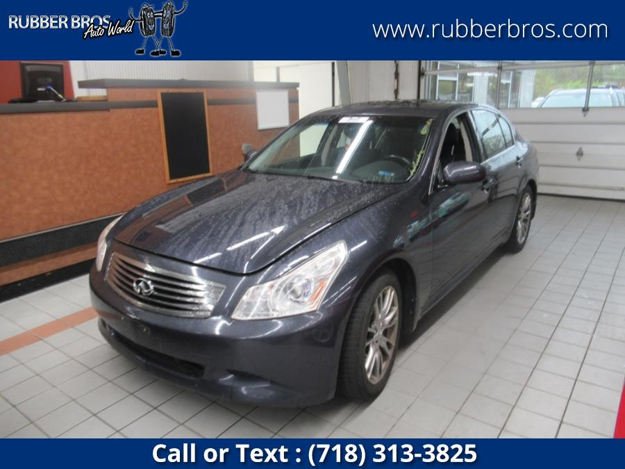 Used 2008 Infiniti G35 Sedan in Brooklyn, New York | Rubber Bros Auto World. Brooklyn, New York