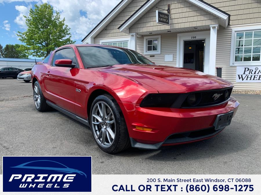 Used Ford Mustang 2dr Cpe GT Premium 2012 | Prime Wheels. East Windsor, Connecticut