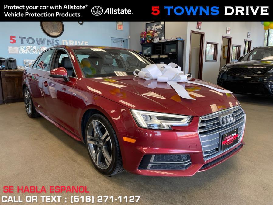Used Audi A4 2.0 TFSI Tech Premium Plus S Tronic quattro AWD 2018 | 5 Towns Drive. Inwood, New York