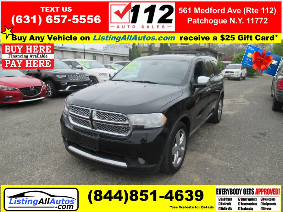 Used 2011 Dodge Durango in Patchogue, New York   www.ListingAllAutos.com. Patchogue, New York