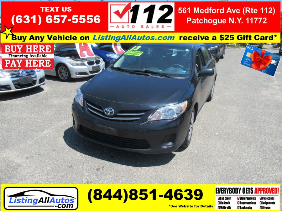Used 2013 Toyota Corolla in Patchogue, New York   www.ListingAllAutos.com. Patchogue, New York