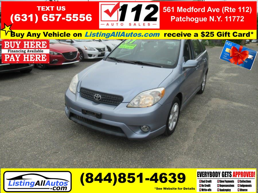 Used 2007 Toyota Matrix in Patchogue, New York   www.ListingAllAutos.com. Patchogue, New York