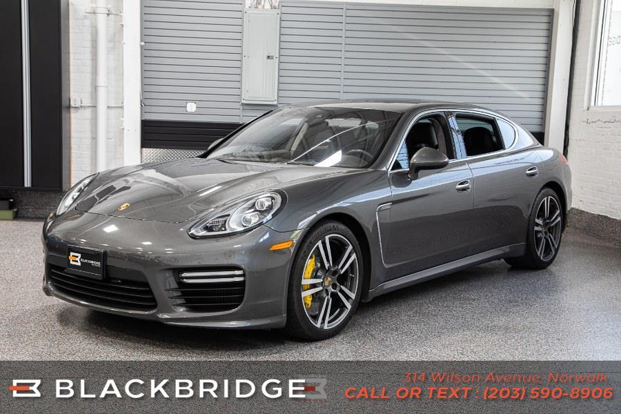 Used Porsche Panamera 4dr HB Turbo S Executive 2014 | Black Bridge Motors, LLC. Norwalk, Connecticut