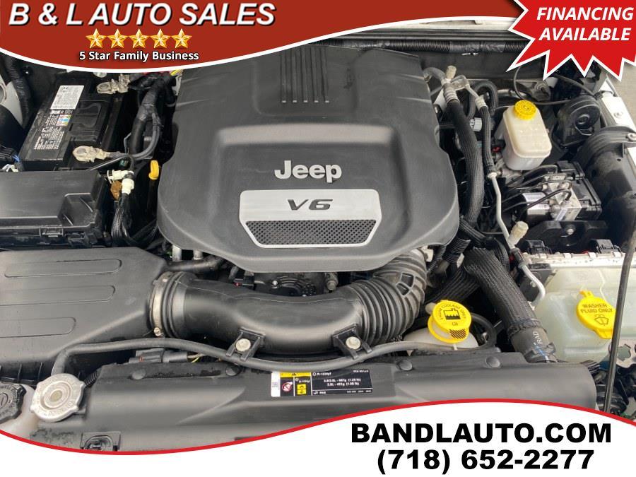Used Jeep Wrangler Unlimited 75th Anniversary Edition 4x4 2017 | B & L Auto Sales LLC. Bronx, New York