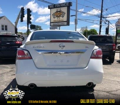 Used Nissan Altima 4dr Sdn I4 2.5 S 2015   Rally Motor Sports. Worcester, Massachusetts