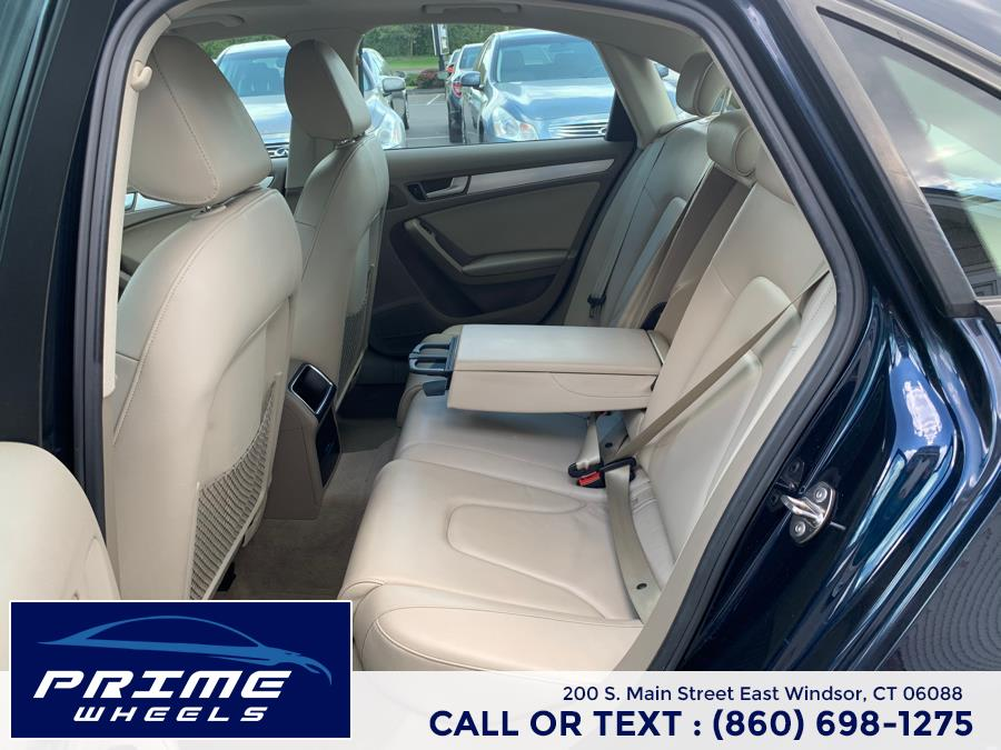 Used Audi A4 4dr Sdn Auto quattro 2.0T Premium 2010   Prime Wheels. East Windsor, Connecticut