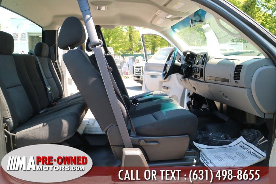 "Used Chevrolet Silverado 4WD Ext Cab 158.2"" Work Truck 2013 | M & A Motors. Huntington, New York"