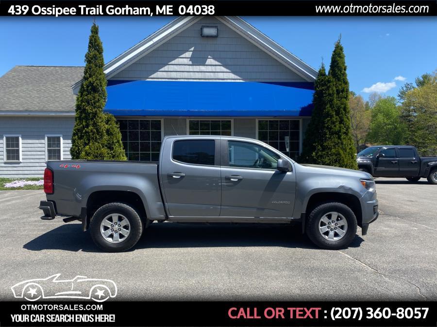 Used 2018 Chevrolet Colorado in Gorham, Maine | Ossipee Trail Motor Sales. Gorham, Maine