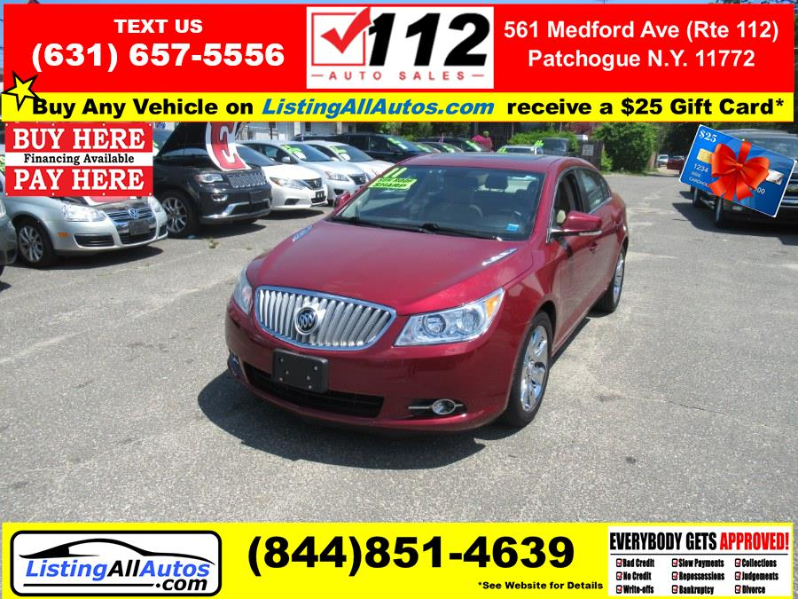 Used Buick LaCrosse 4dr Sdn CXL FWD 2011   www.ListingAllAutos.com. Patchogue, New York
