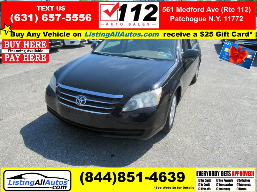 Used 2007 Toyota Avalon in Patchogue, New York   www.ListingAllAutos.com. Patchogue, New York