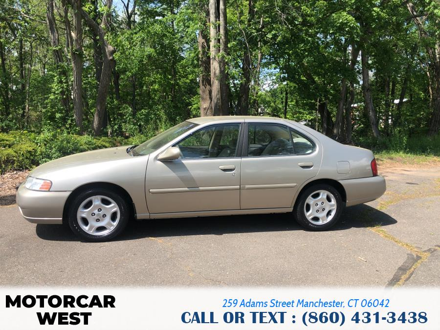 Used Nissan Altima 4dr Sdn GXE Auto 2000 | Motorcar West. Manchester, Connecticut