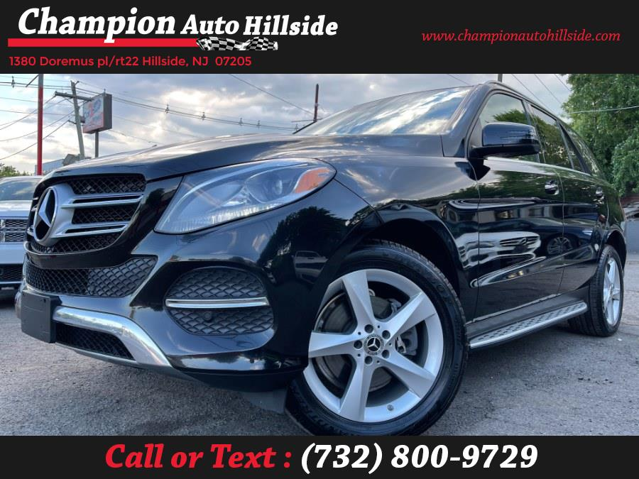 Used 2017 Mercedes-Benz GLE in Hillside, New Jersey | Champion Auto Sales. Hillside, New Jersey