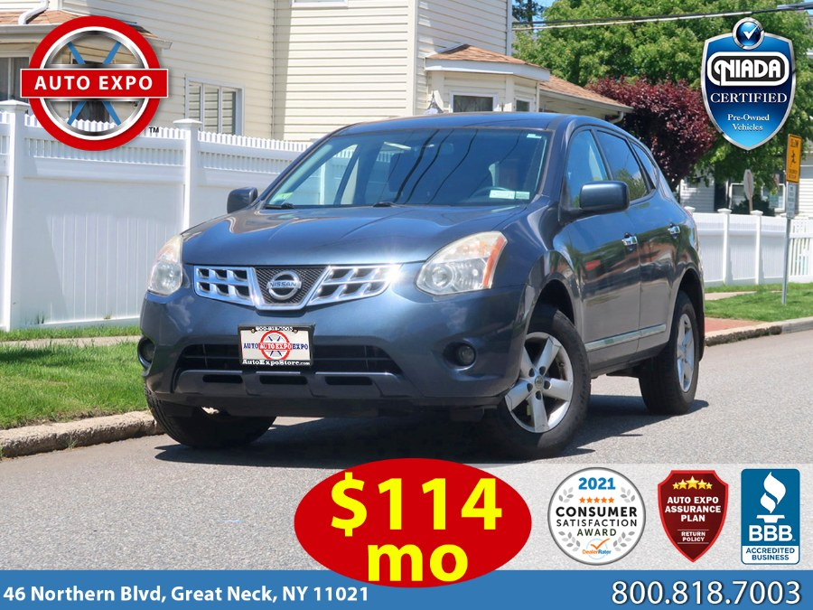 Used 2013 Nissan Rogue in Great Neck, New York | Auto Expo Ent Inc.. Great Neck, New York