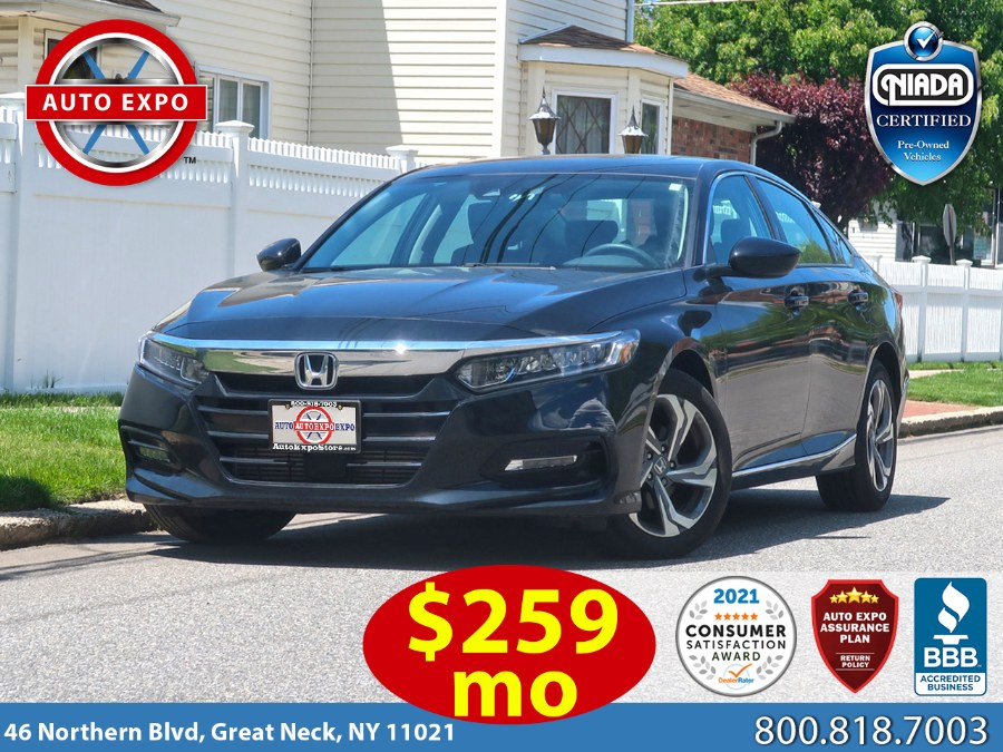 Used 2018 Honda Accord in Great Neck, New York | Auto Expo Ent Inc.. Great Neck, New York