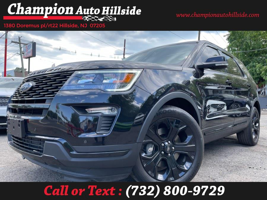 Used 2019 Ford Explorer in Hillside, New Jersey | Champion Auto Hillside. Hillside, New Jersey
