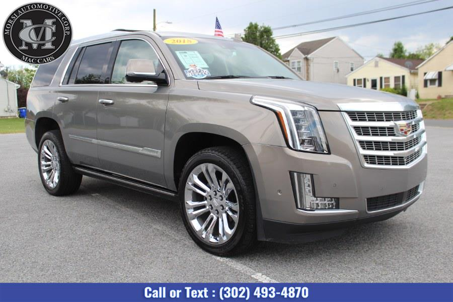 Used Cadillac Escalade 4WD 4dr Premium Luxury 2018   Morsi Automotive Corp. New Castle, Delaware