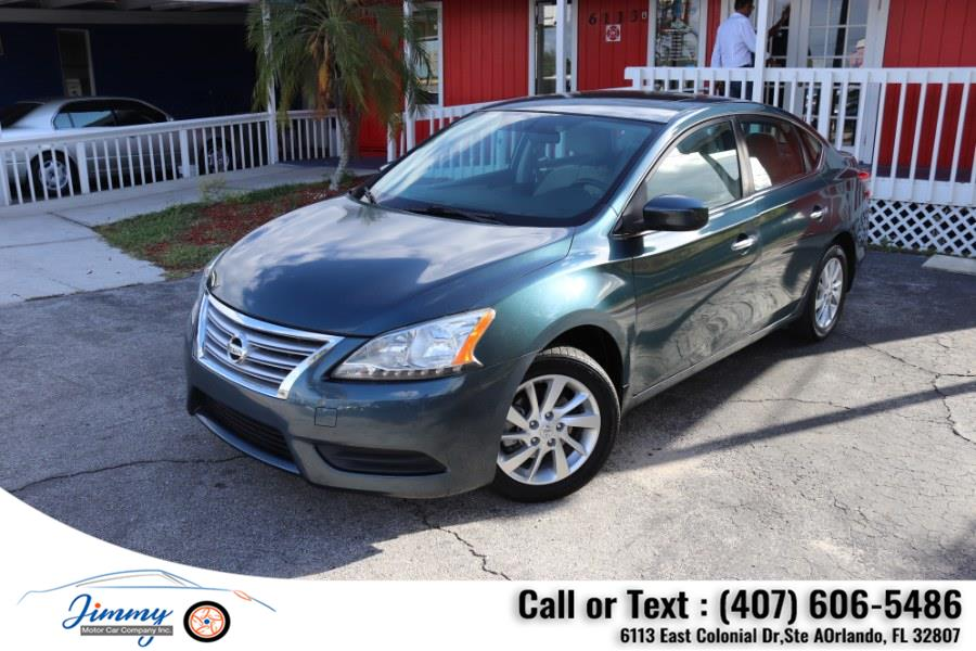 Used Nissan Sentra 4dr Sdn I4 CVT SR 2015   Jimmy Motor Car Company Inc. Orlando, Florida