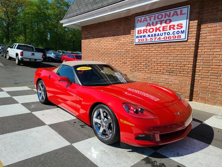 Used Chevrolet Corvette 2dr Conv 2007 | National Auto Brokers, Inc.. Waterbury, Connecticut