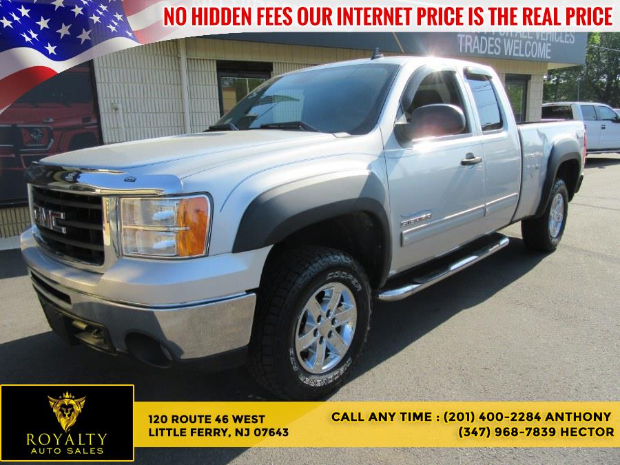 """Used GMC Sierra 1500 4WD Ext Cab 143.5"""" SLE 2010 