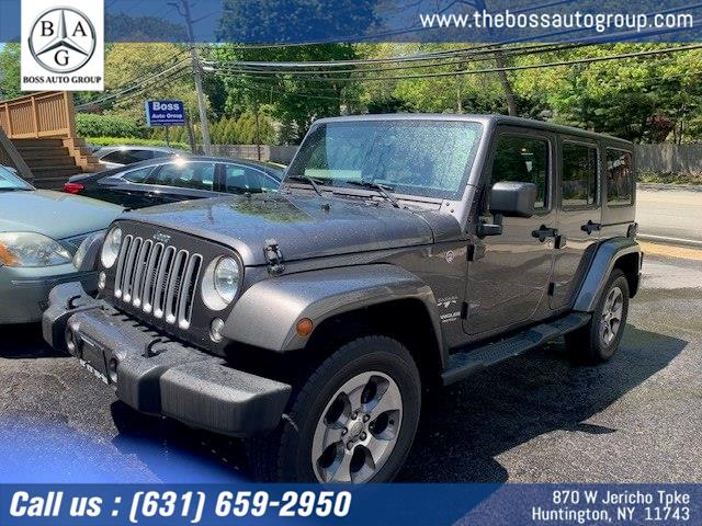 Used 2016 Jeep Wrangler Unlimited in Huntington, New York | The Boss Auto Group . Huntington, New York