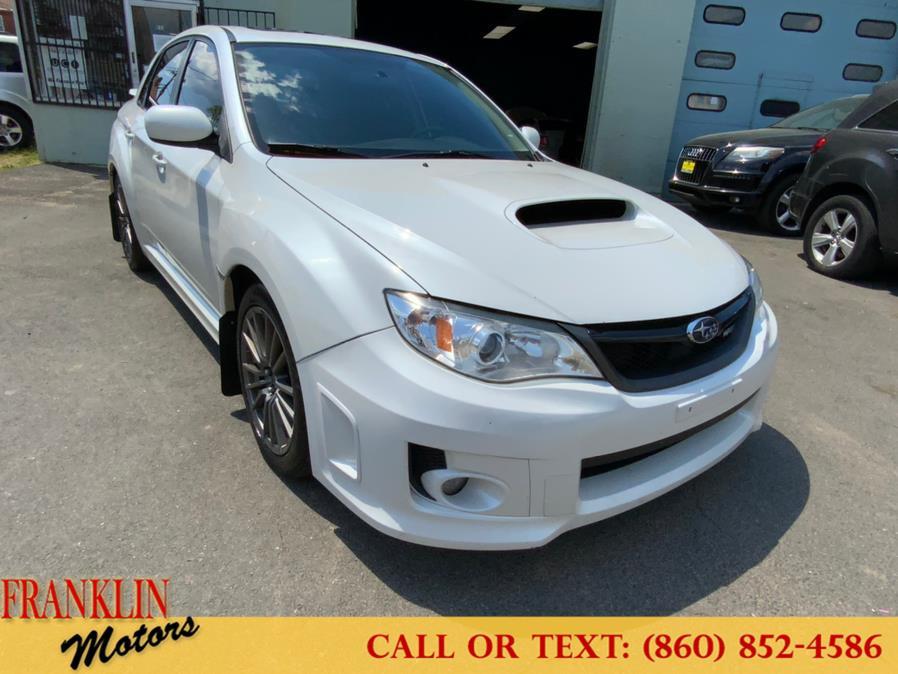 Used 2013 Subaru Impreza Sedan WRX in Hartford, Connecticut | Franklin Motors Auto Sales LLC. Hartford, Connecticut