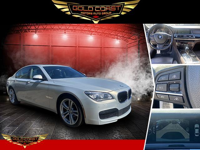 Used BMW 7 Series 4dr Sdn 750i xDrive AWD 2014 | Sunrise Auto Outlet. Amityville, New York