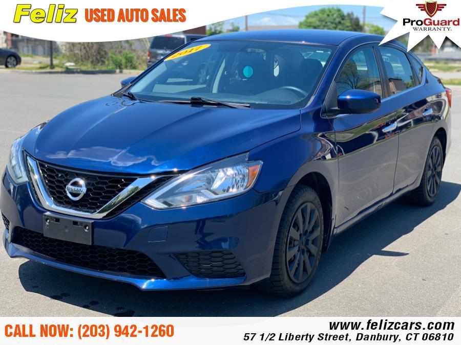 Used 2017 Nissan Sentra in Danbury, Connecticut | Feliz Used Auto Sales. Danbury, Connecticut